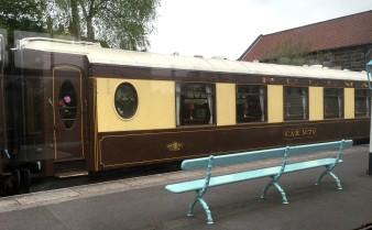 Train on North York Moors railway